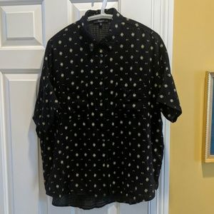 Madewell Short Sleeve Button Down M